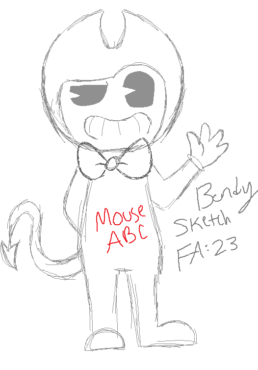Bendy Machine Sheet Coloring Pages