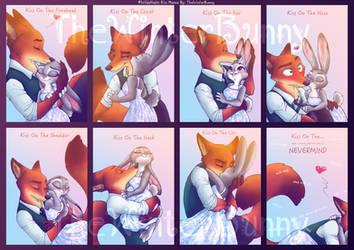 #WildeHopps Kiss Meme by TheWinterBunny