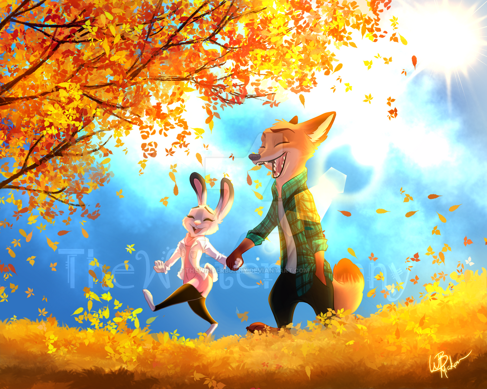 The Joy Of Autumn by TheWinterBunny