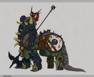centaur warrior by Disolin