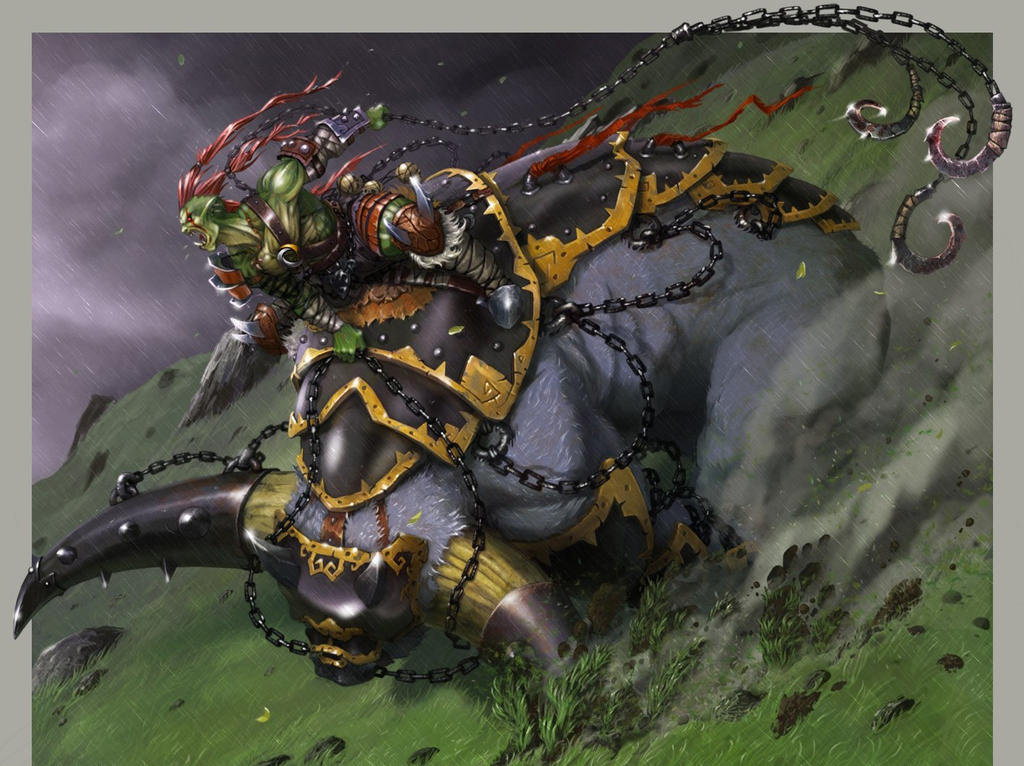 Extreme Racing 4. Orc by Disolin