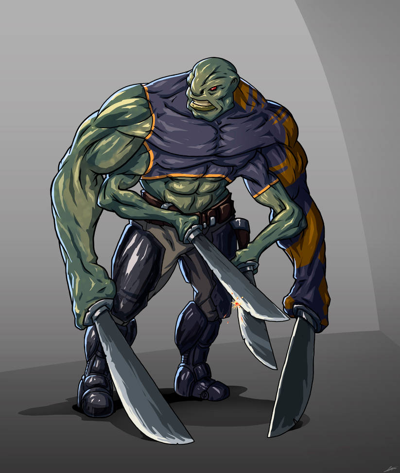 Huge machete by Disolin