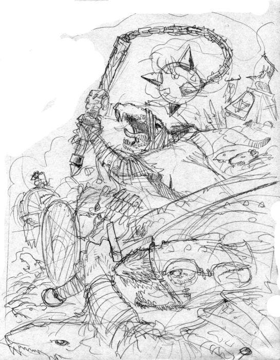 skaven clanrats coloring pages | GW's Warhammer Skaven cover by MouseCityKola on DeviantArt