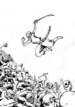 Darkest Africa 02- cover sketch
