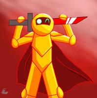 GildedGuy The Golden Animator(Remake) by AquaBoost