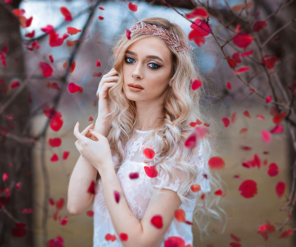 The girl who brought spring back by ralucs