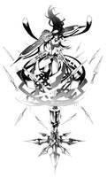 Sci Fi Retro Kunoichi