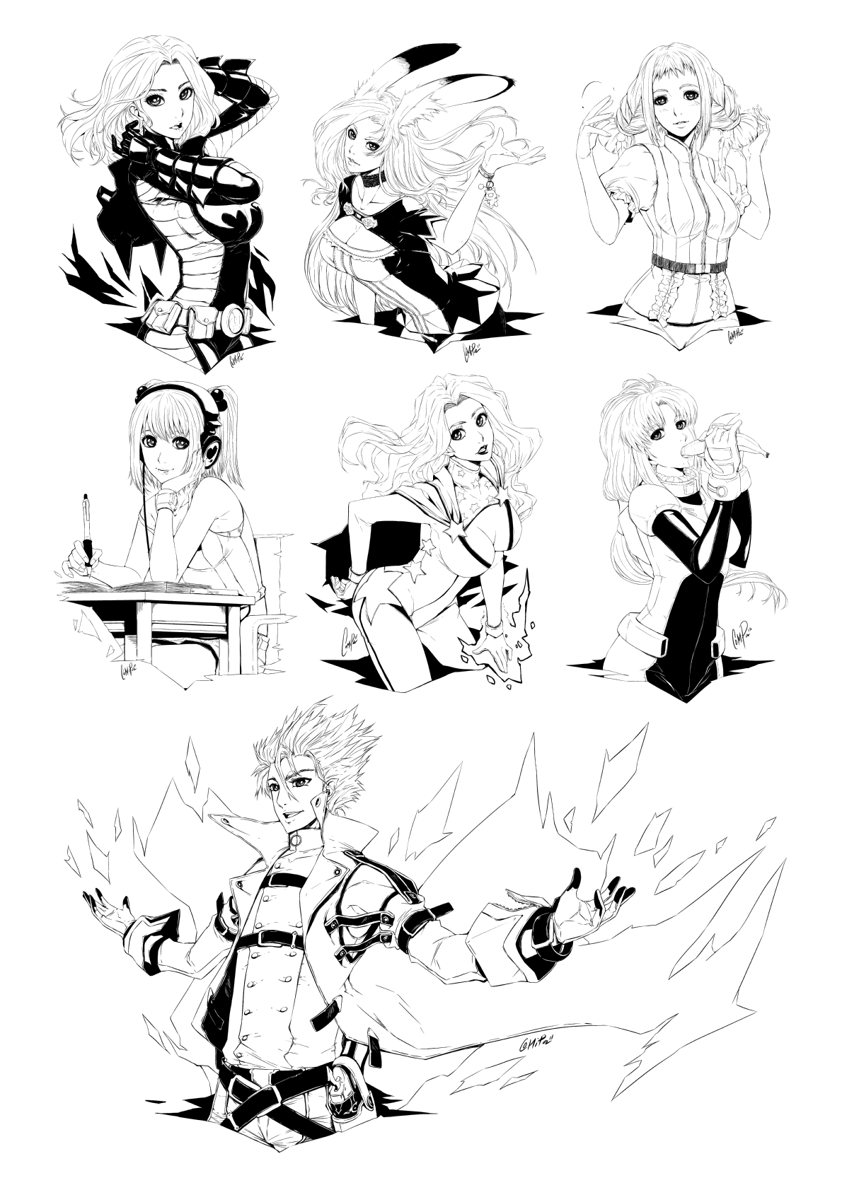 halfbody Set 7 by ComiPa