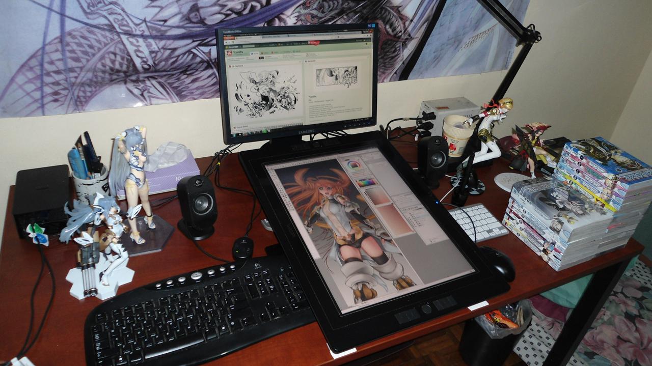 set up machine