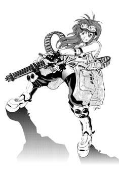 MobileSuitGio's Mini-Gun Girl