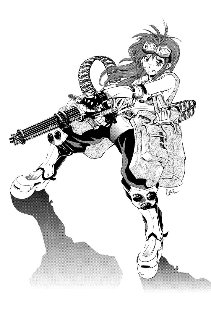 MobileSuitGios Mini Gun Girl By ComiPa