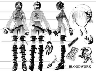 BloodWork Model Sheet by ComiPa