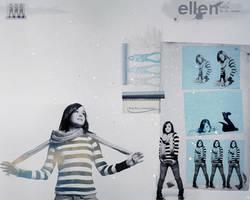 Ellen Page by Livoka
