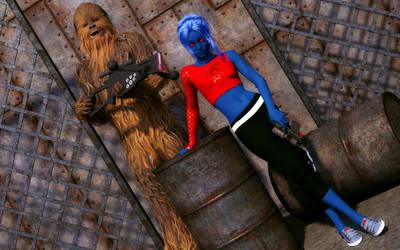 Ineerva and Wookie