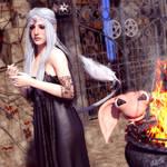 Unicorn Jewelry for Genesis 8 Female