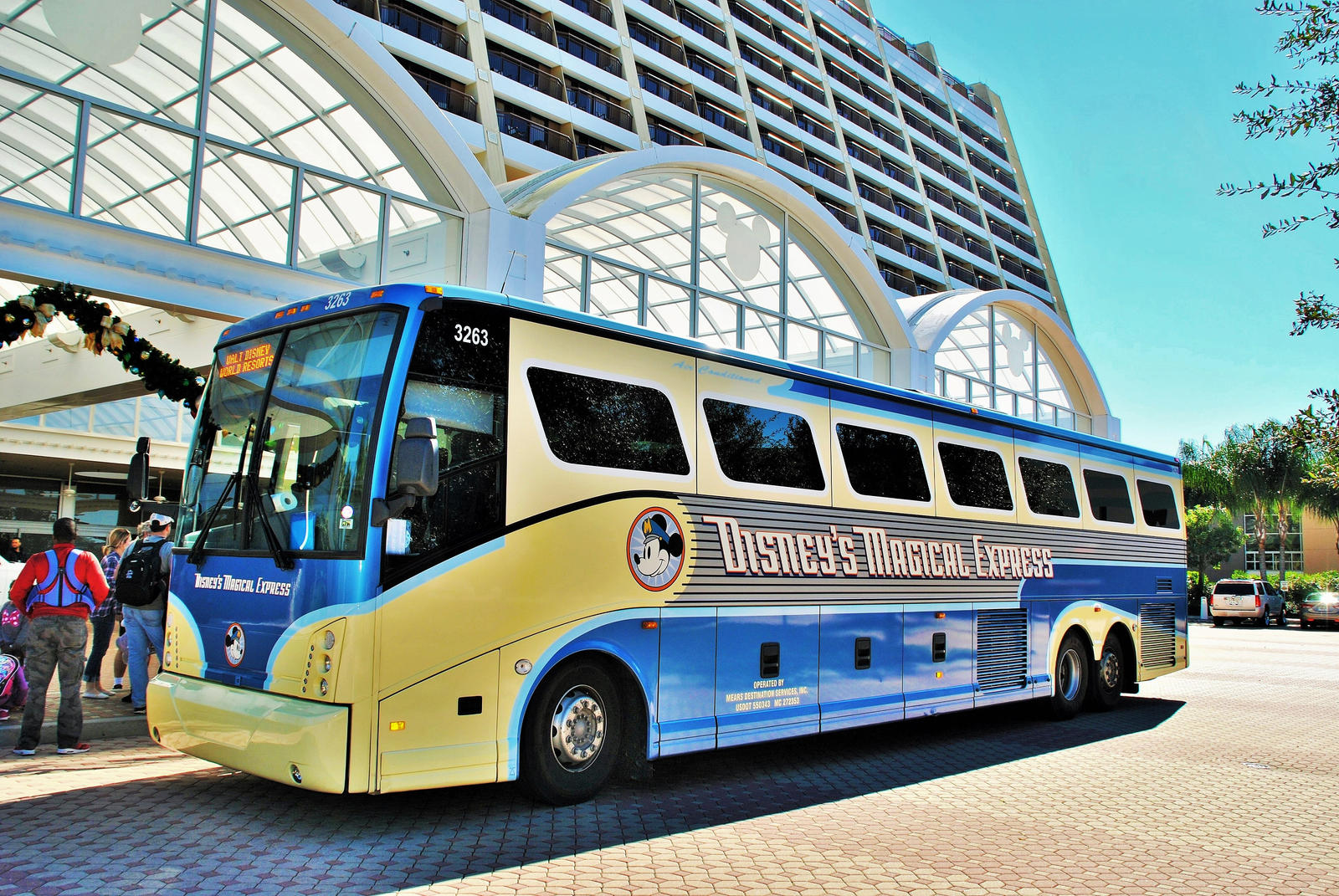 how to change disney magical express reservation