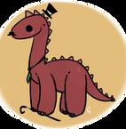 Gentleman Dinosaur by Ennyh