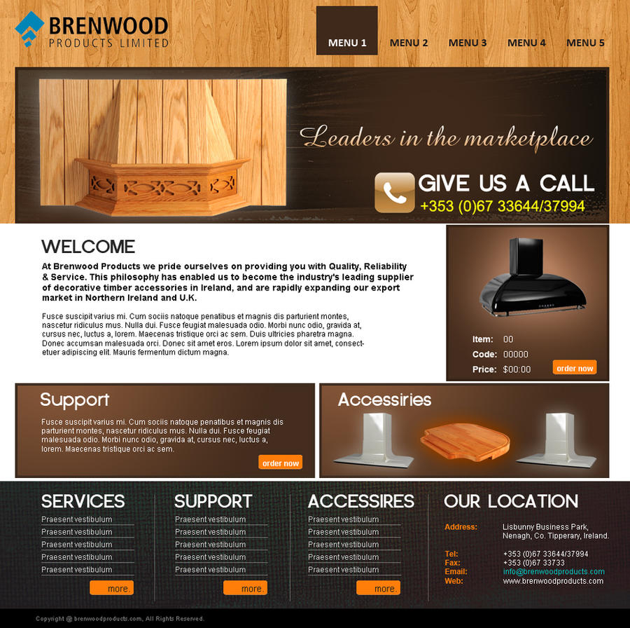 Furniture Website. By IMADEEL On DeviantArt