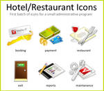 Hotel and Restaurant Icons