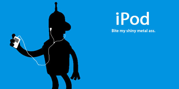 iPod, iBender by Flarup