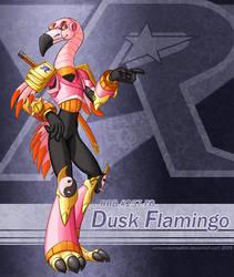 Dusk Flamingo