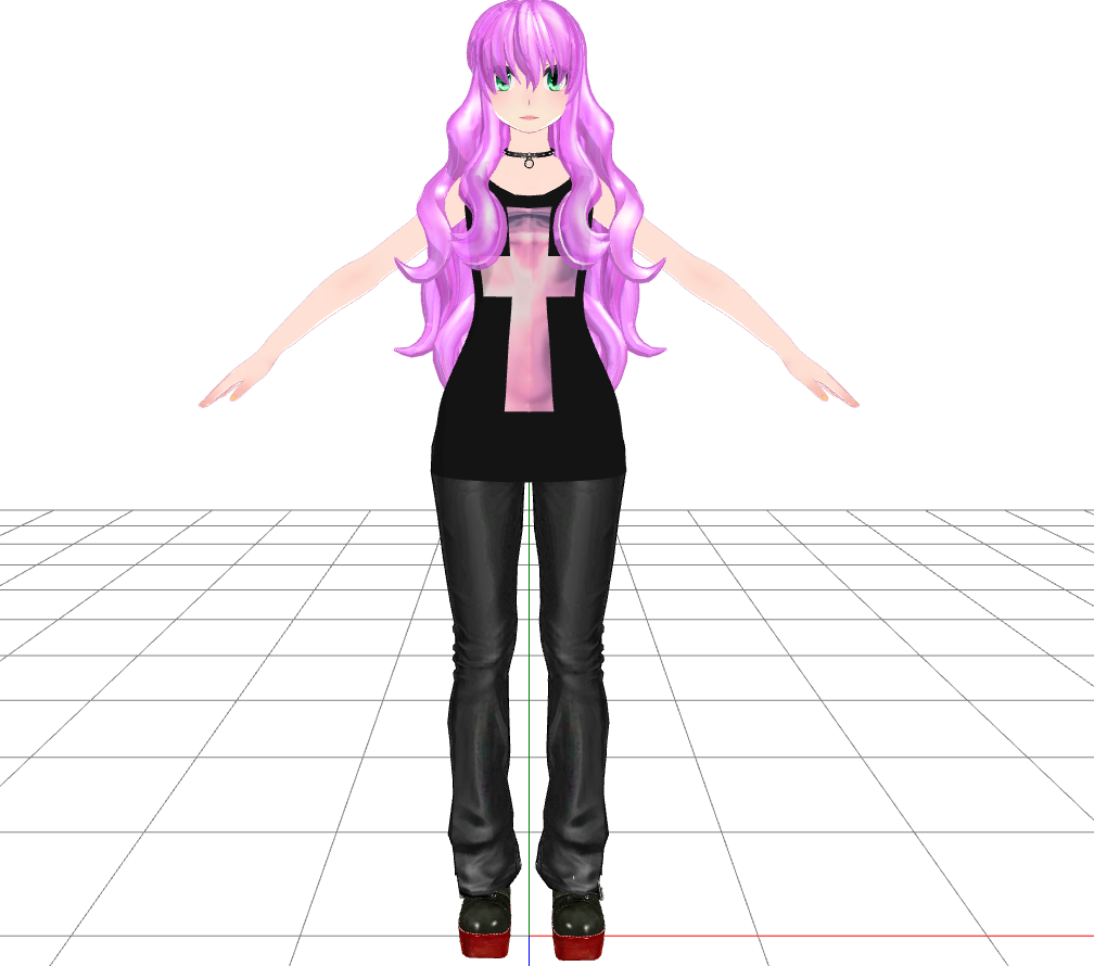 Gothic luka model mmd download by dibandgazbrothersis for Deviantart mmd