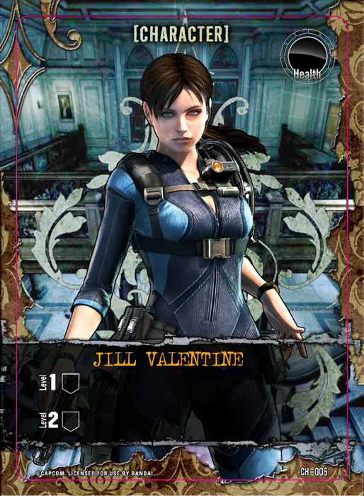 Jill Valentine Revelations 2 by HuangZhenyangHZ