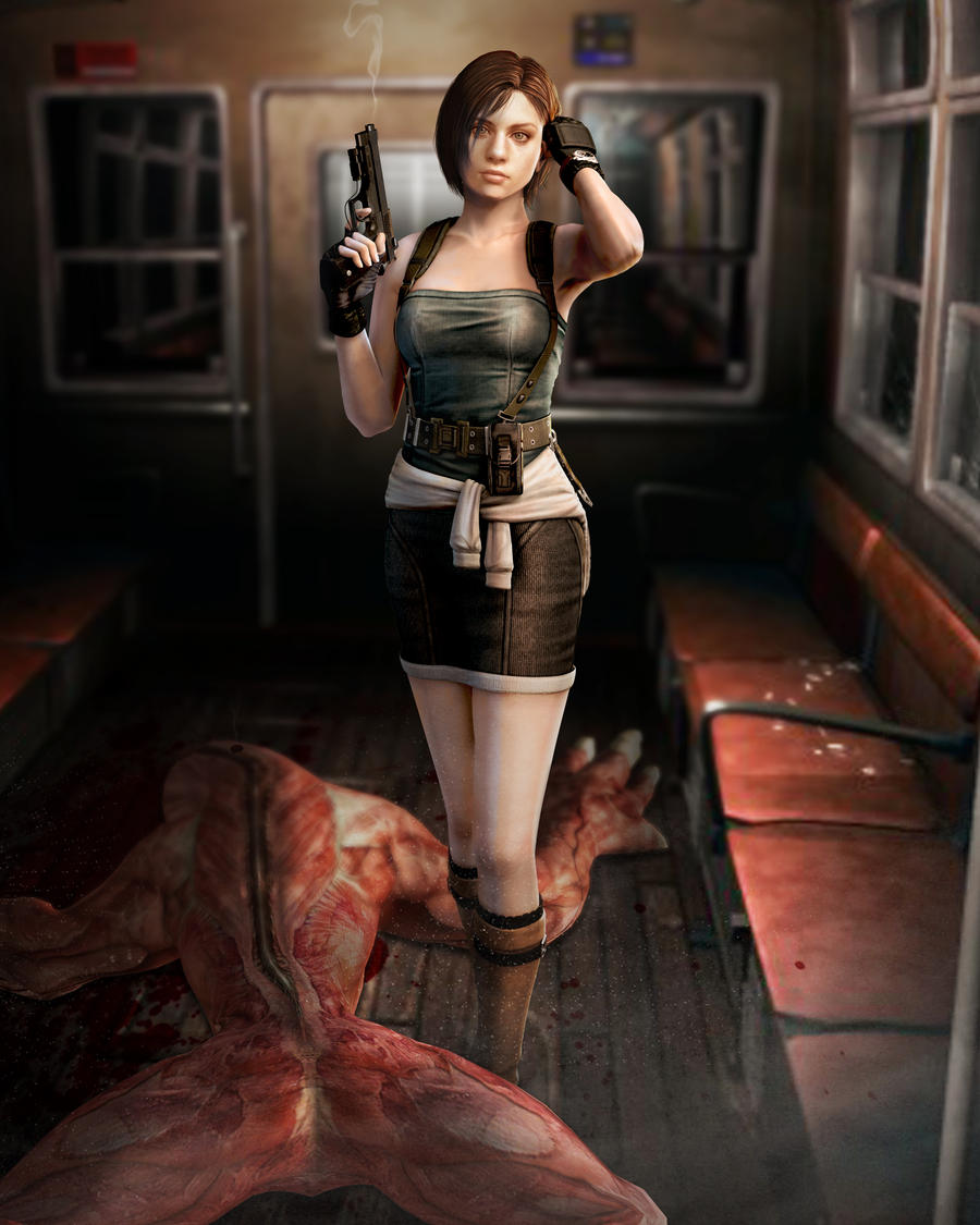 Jill RE3 by HuangZhenyangHZ