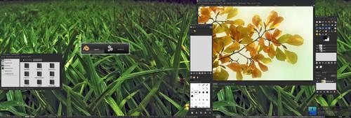 Arch Desktop by FrogOnCoffee