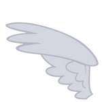 MLP Wing Base - Vector