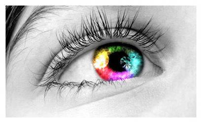 rainbow eye by tears-of-eternity