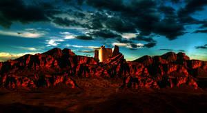 Power Rangers Command Center - Panoramic View