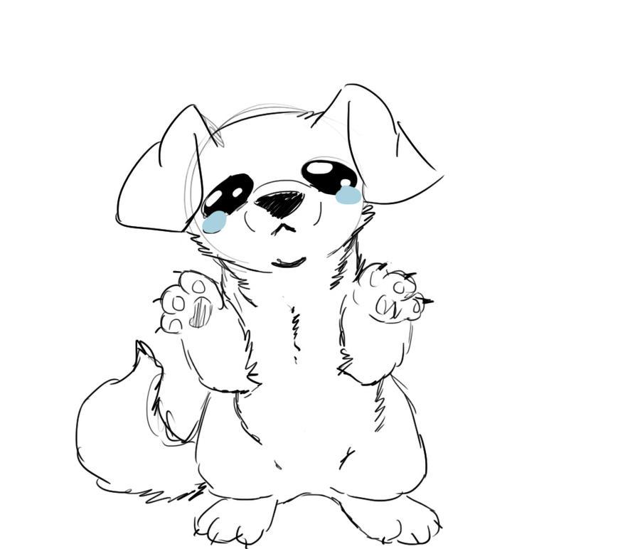 Sad Puppy By ZombieTiny On DeviantArt
