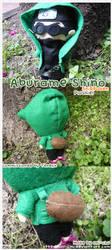 Aburame shino Plushie Commission by Oni-chu