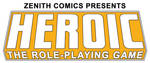 HEROIC the RPG Header - Colour by ZenithComics