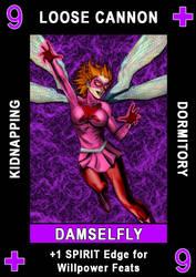 Spirit Suit Card Sample by ZenithComics