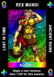 Karma Suit Card Sample by ZenithComics