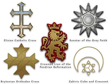 The World of Aeran - Religious Symbols - Colour