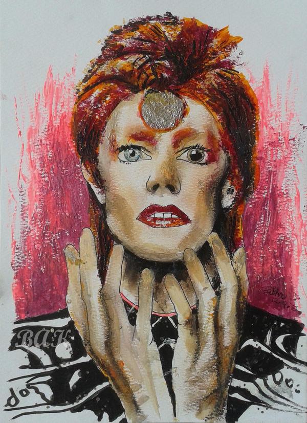 Ziggy Stardust by BAK123