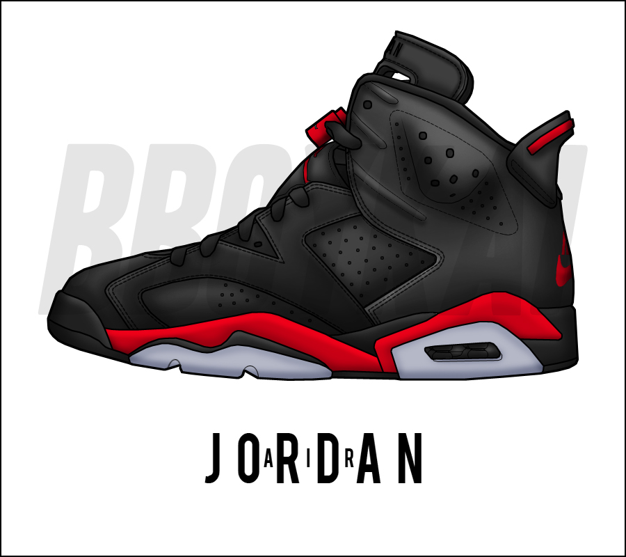 a644a6f6411 Air Jordan 6 'Infrared Sample' by BBoyKai91 on DeviantArt