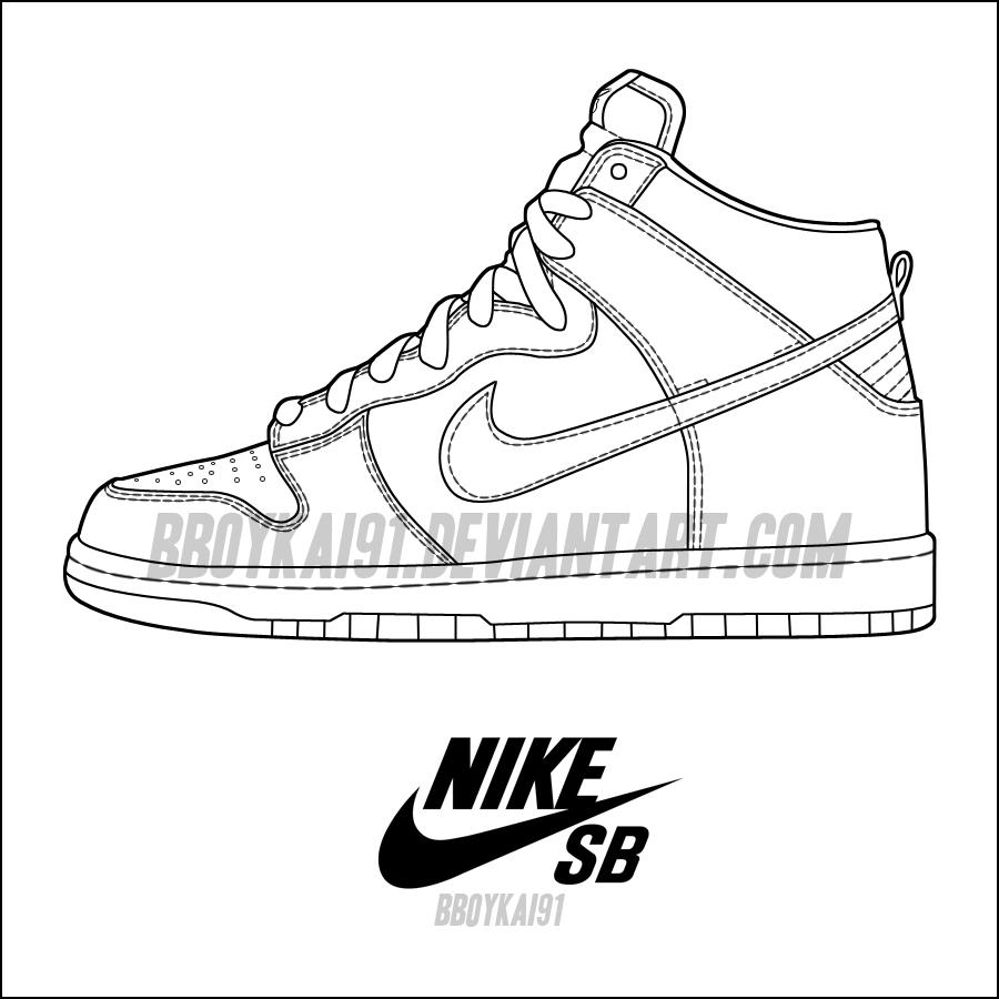 Cheap Air Jordans For Sale Nike Sb High Top Template