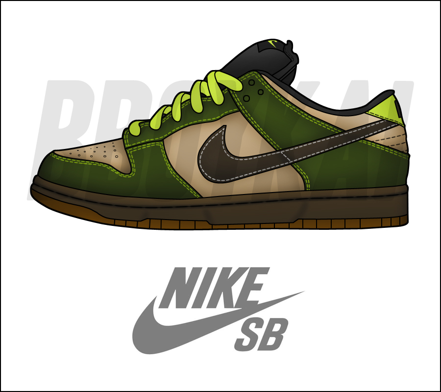 15ccedc37a ... Nike Dunk Low Pro SB 'Jedi' by BBoyKai91 on DeviantArt ...