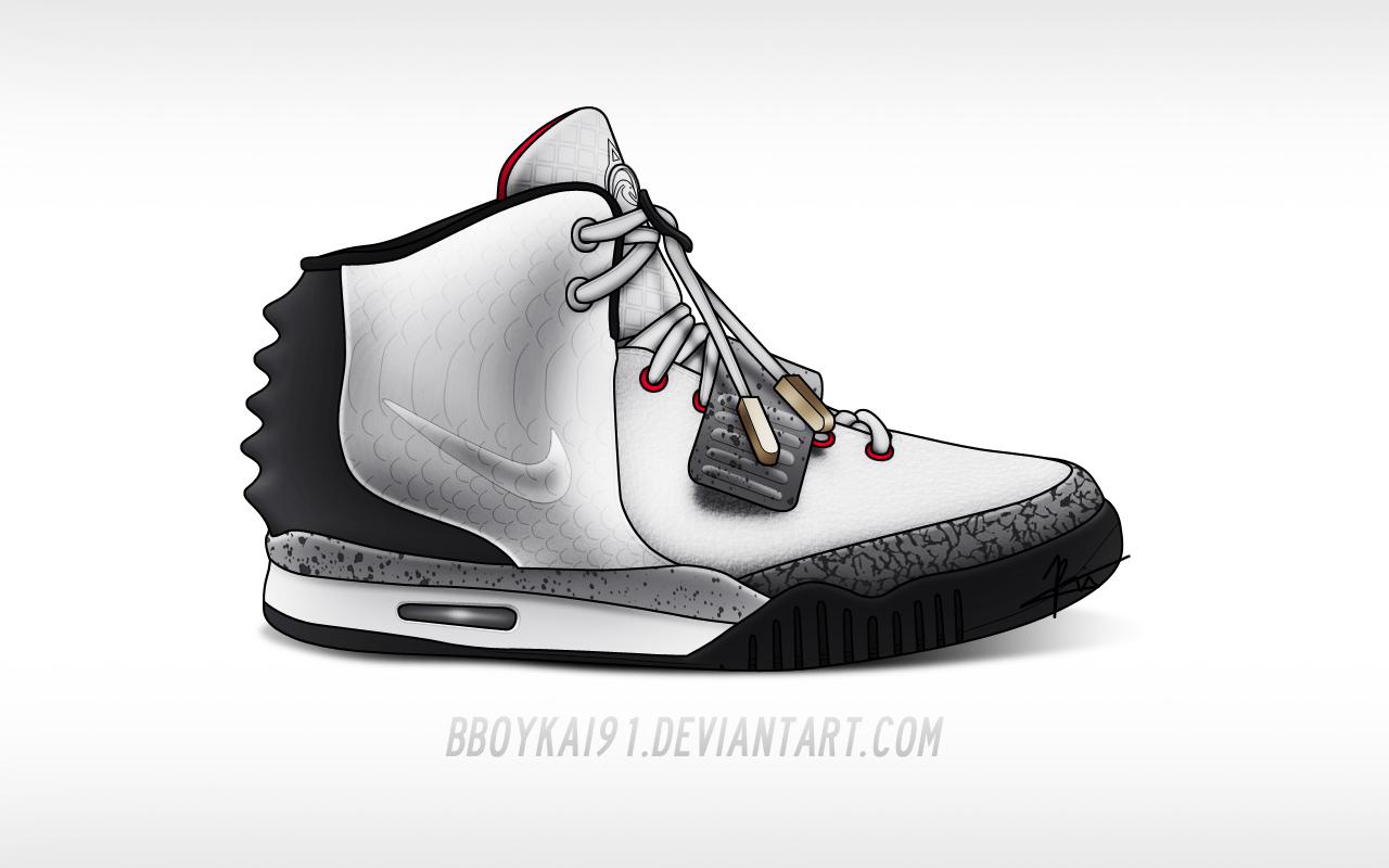 Nike Air Yeezy 2 \u0026#39;White Cement\u0026#39; by BBoyKai91