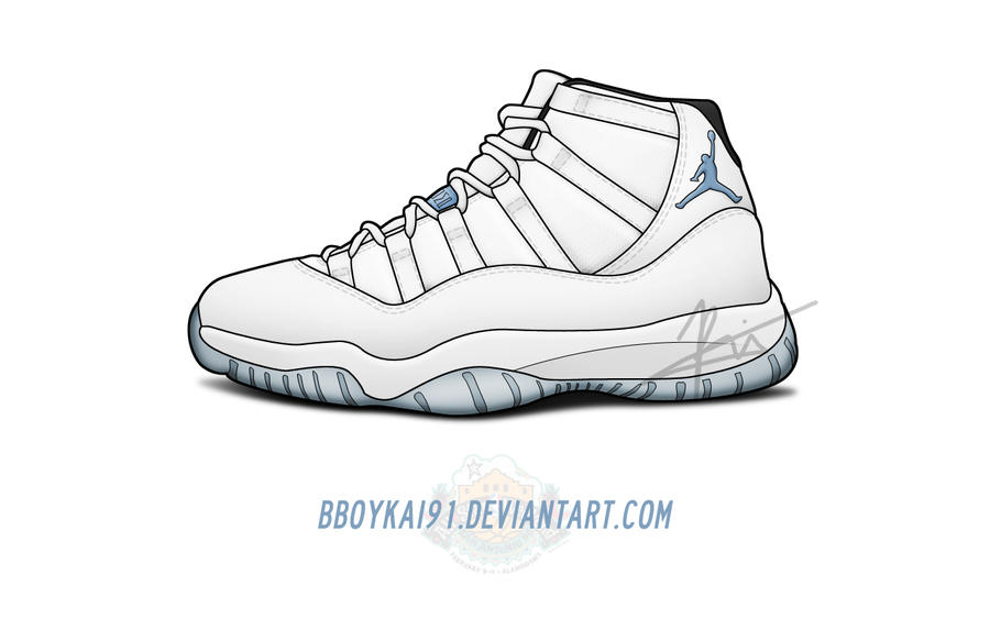 Jordan Retro 11 Drawings Air Jordan 11 Drawings