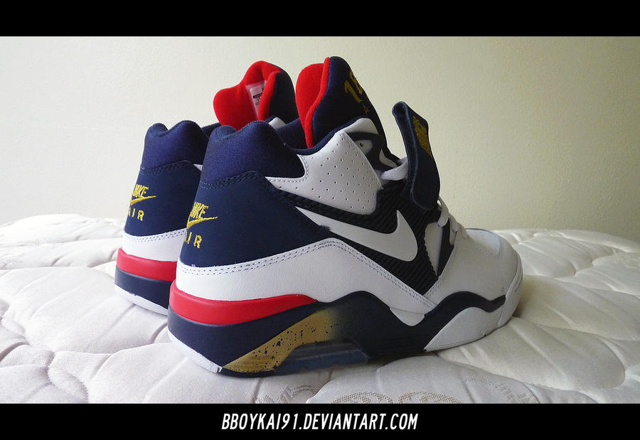 separation shoes 60b8b 36028 2012 Nike Air Force 180  Olympic  2 By BBoyKai91 On DeviantArt