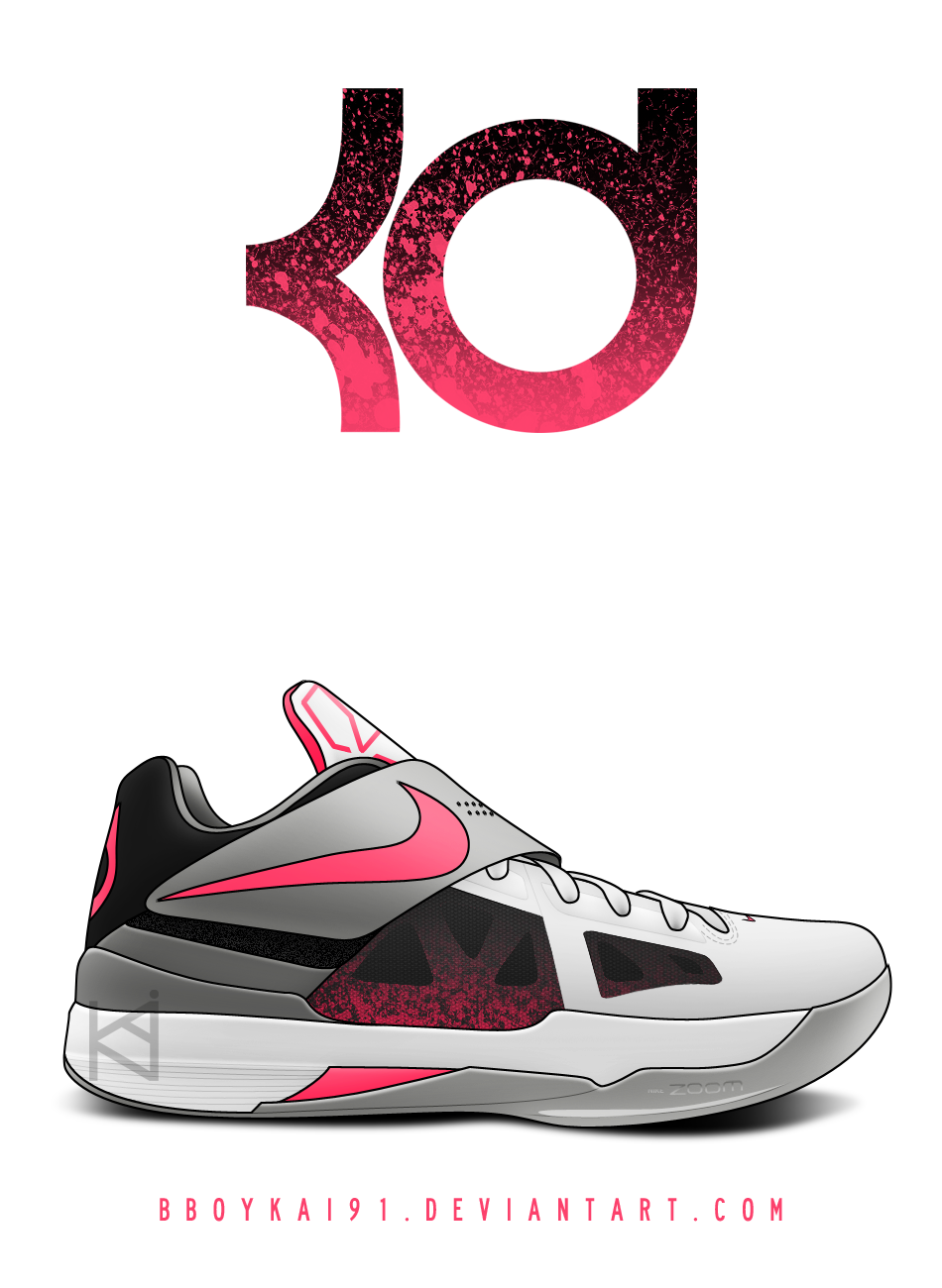 Nike Zoom KD IV 'Hot Lava' by BBoyKai91
