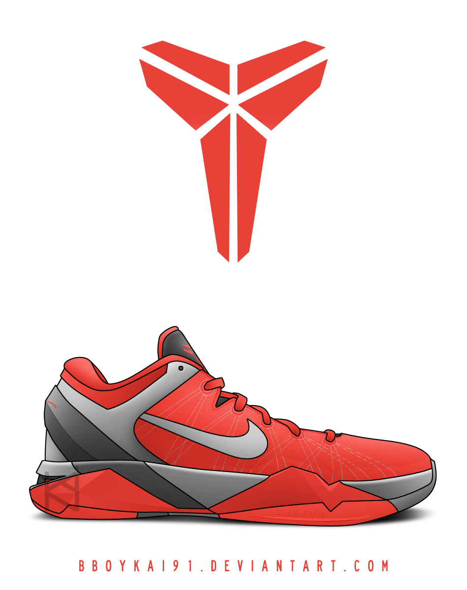 nike zoom kobe vii white cement by bboykai91 on deviantart rh bboykai91 deviantart com Elite Basketball Logo Elite Basketball Logo