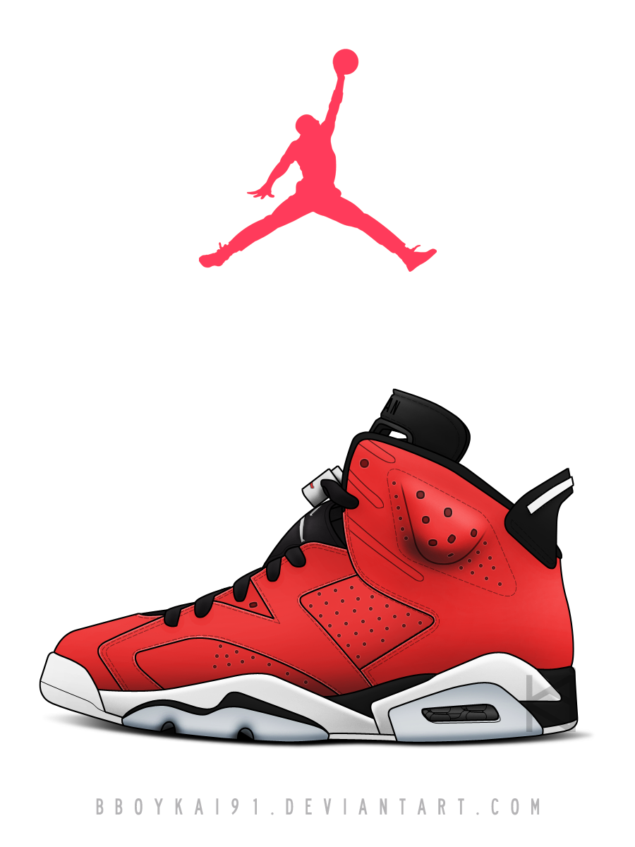 Great ... Air Jordan 6 U0027Torou0027 By BBoyKai91