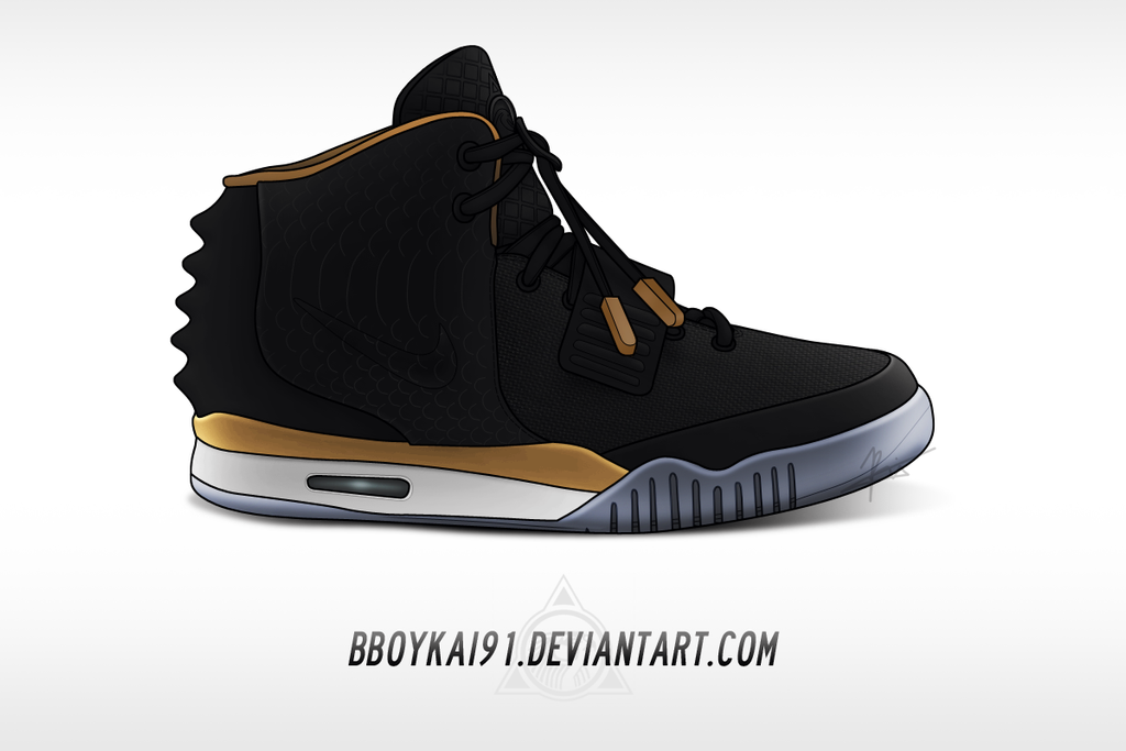 Nike Air Yeezy 2 'Rose Gold' by BBoyKai91