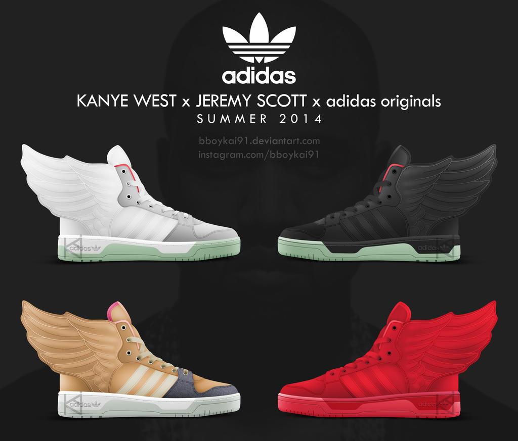 All-Nothing 13 2 Kanye West x Jeremy Scott x adidas originals Wings by  BBoyKai91